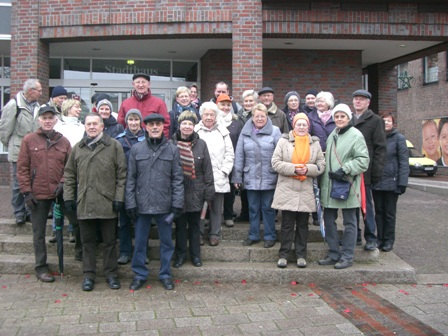 02. Dezember 2012 Adventswanderung mit anschl. Feier