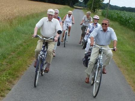 28. Juli 2013 Fahrradtour in der Region Großenkneten