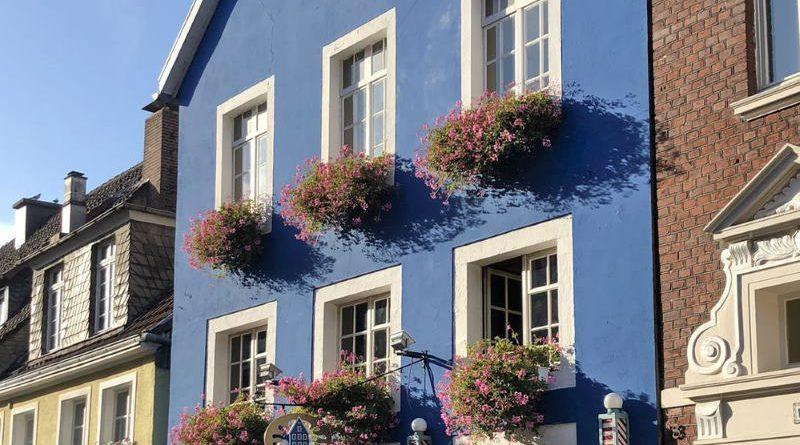 """Das """"Blaue Haus"""" ist eine der ältesten Studentenkneipen Münsters"""